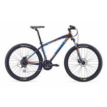 Bicicleta R27.5 Giant Talon 4 Disc Montaña 2016 Azul Y Gris
