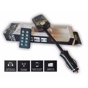 Transmisor Adaptador Fm Mp3 Auto Bluetooth Manos Libres Usb