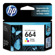 Cartucho Hp 664 Color Para Hp 2135 3635 2675  Original