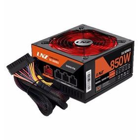 Fuente Gamer Lnz Sx850-fm 850w Led Red Sentey Semi Modular