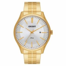 Relógio Masculino Analógico Orient Dourado Mgss1099