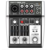 Xenyx 302usb Premium 5-input Mixer With Xenyx Mic Preamp,usb
