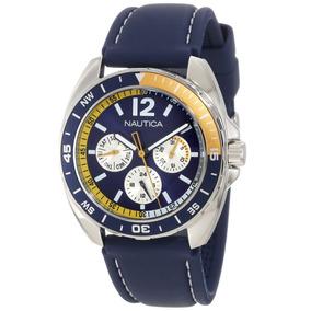 Reloj Nautica N09915g Resina, Cuarzo Hombre -azul