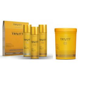 Trivitt Kit De Manutenção + Hidratação Intensiva 1kg 4 Itens