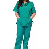 Ambos Enfermería Medicina Veterinaria Uniforme 100% Algodón