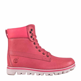 Bota Timberland Brookton 6 Light Red Full Grain De Mujer