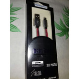 Cable Usb 3.1a Datos Y Carga Power Charge Original Blindado