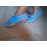 Zapatos Tejidos Damas Y Niñas