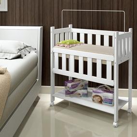 Mini Berço Moisés 100% Mdf Branco - Tigus Baby