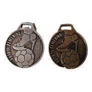 100 Medallas Deportiva 3,5cm Fútbol Futbol Femenino