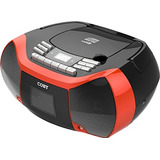 Coby Mpcd Red Reproductor / Grabadora De Cd Con Mp3 / Usb (