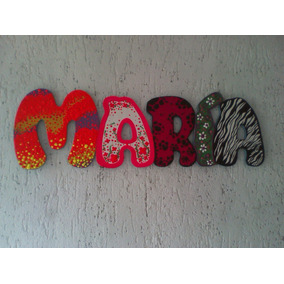 Letras Y Nombres En Mdf Para Candy Bar,cuartos Y Locales.