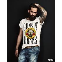 Camiseta Ou Baby Banda Guns N