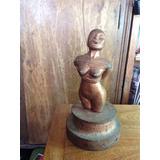 Escultura Mujer Desnuda, Vintage