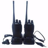 Kit Com 10 Radios Comunicação Ht Uhf Vhf 16 Canais