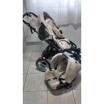 Carrinho Para Bebê High Treck+bebe Conforto+capa De Chuva