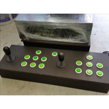 Multijuegos 1200 Juegos Arcade Con Joystick 2 Players Verde