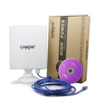 Adaptador Receptor Wifi Usb Alta Potencia 150mb 6600mw 80dbi