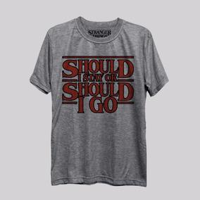 Camiseta Should I Stay The Clash Stranger Things Netflix