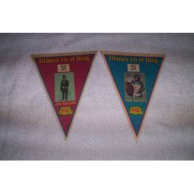 Titanes En El Ring Banderines Broche De Oro 1973..leer.