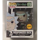 Weaponized Rick Chase 172 Con Arma Funko Pop Rick And Morty