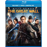Blu-ray The Great Wall / La Gran Muralla / Bluray + Dvd