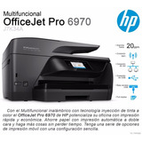 Impresora Multifuncion Hp 6970 Wifi Copia Escanea Fax Envio