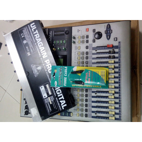 Mesa Digital 01v Yamaha + Placa De Expansão +ada + C/ Optico