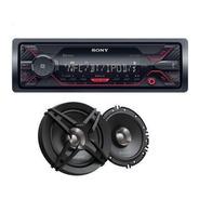 Paquete Sony Auto Estereo Dsx-a410bt + Bocinas 61/2 Sony Msi