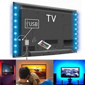 Teatro En Casa Led Tv Backlight Acento Rgb Tiras Color--4283