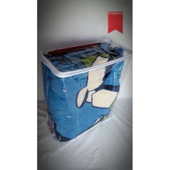Bolsas De Pvc P/acolchados 1 Plaza X Pack De 10 Unid Premium