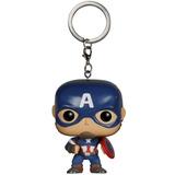Funko Pop Keychain: Captain America - Marvel Avengers