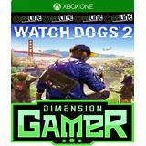 Watch Dogs 2 - Xbox One - No Codigo - Off-line