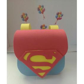 Lembrancinha Bolsa Eva Super Homem 10 Un