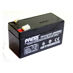 Batería Gel 12volts 1.3 Amper H Recargable Press Plomo Acido
