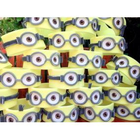 Cotillón 10 Vinchas Minions Disfraz Fiestas 15 Casamientos