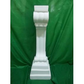 columnas de yeso medio pie francs dressoire decoracion