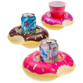 Posa Vaso Inflable Donuts Unicornio Pileta Fiesta Souvenirs