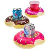 Posa Vaso Inflable Donuts Piscina Pileta Fiesta Souvenirs