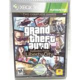Grand Theft Auto Liberty City Para Xbox 360 Usado