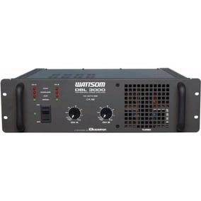 Ciclotron Dbl 3000 Potência Amplificador