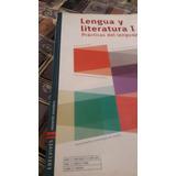 Libro Lengua Y Literatura I