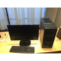 Computadora Completa, Cpu: Samsung, Monitor: Lg