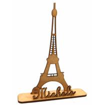 50 Lembrancinha Personalizada Festa Torre Eiffel Com Nome
