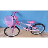 Bicicleta Infantil Aro 20 Barato Barbie Frozen Princesas Pig