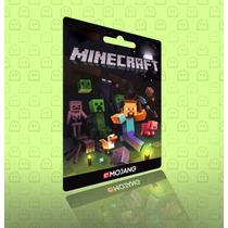 Minecraft Pc Cartão De Ativação Original - Entrega Na Hora