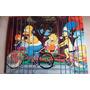 Esteira Porta-copos Para Sofá Os Simpsons Ii - Flexível
