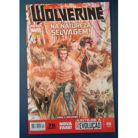 Hq Wolverine Nº 14 - Na Natureza Selvagem. Ed. Fev 2016