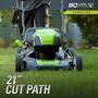 Cortadora De Cesped Greenworks Pro Glm801600 80v 21