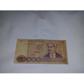 Nota 50 Mil Cruzeiros Edição Oswaldo Cruz Serie A 0750